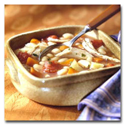 Chicken Vegetable Bean Soup